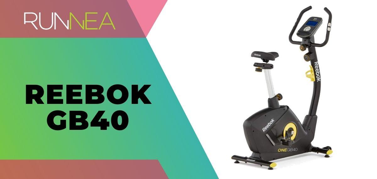 Las mejores bicicletas estáticas 2020, Reebok GB40