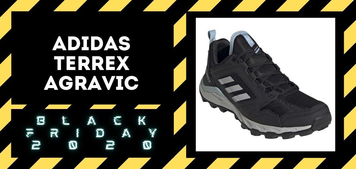 Los mejores descuentos del Black Friday en zapatillas trail 2020,  Adidas Terrex Agravic
