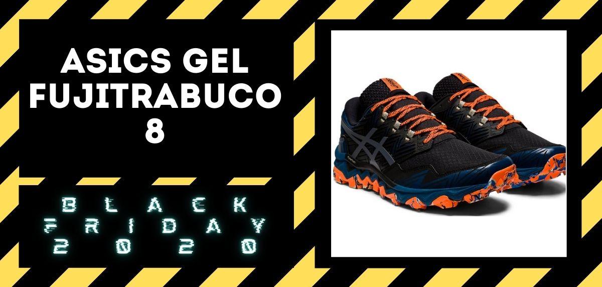 Los mejores descuentos del Black Friday en zapatillas trail 2020,  ASICS Gel Fujitrabuco 8