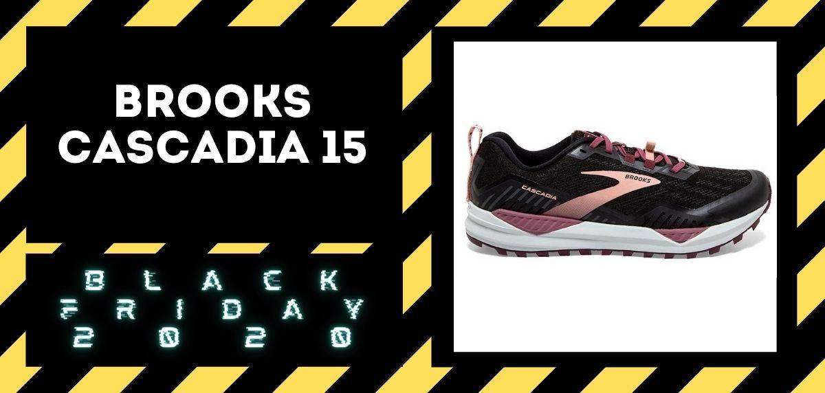 Los mejores descuentos del Black Friday en zapatillas trail 2020, Brooks Cascadia 15