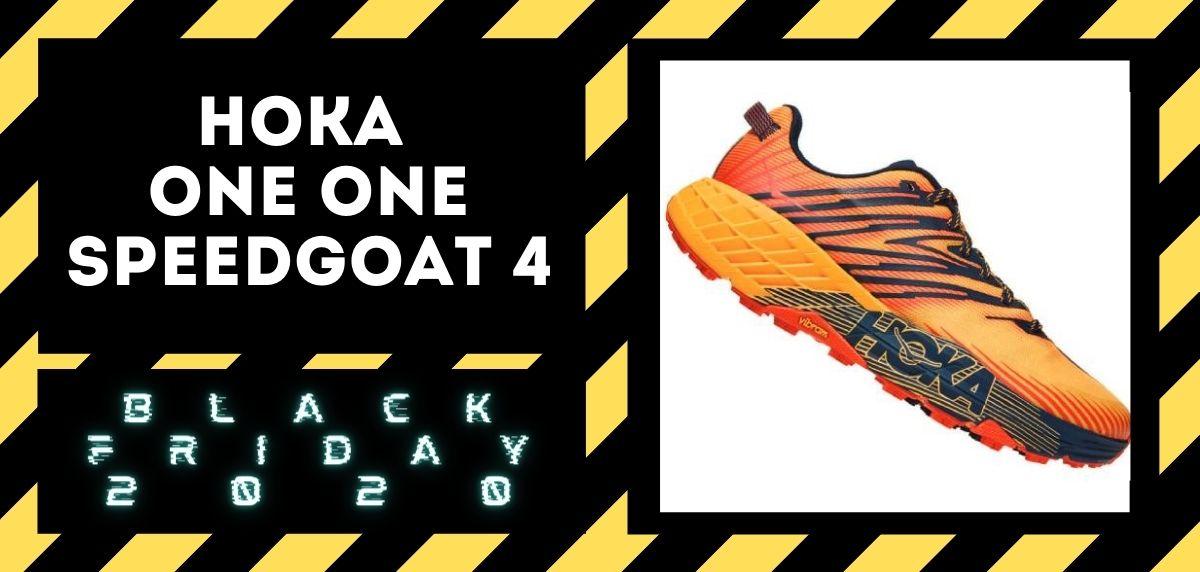 Los mejores descuentos del Black Friday en zapatillas trail 2020, Hoka One One Speedgoat 4