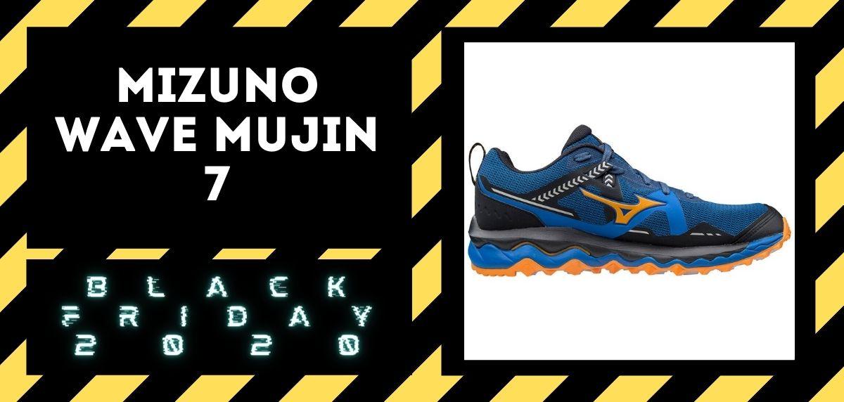 Los mejores descuentos del Black Friday en zapatillas trail 2020, Mizuno Wave Mujin 7