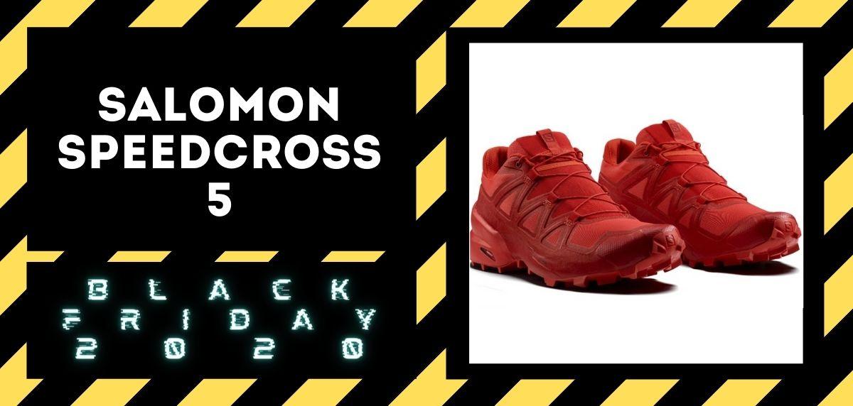 Los mejores descuentos del Black Friday en zapatillas trail 2020, Salomon Speedcross 5