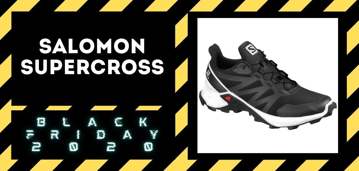 Los mejores descuentos del Black Friday en zapatillas trail 2020, Salomon Supercross