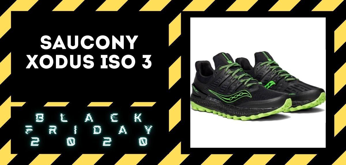 Los mejores descuentos del Black Friday en zapatillas trail 2020, Saucony Xodus ISO 3