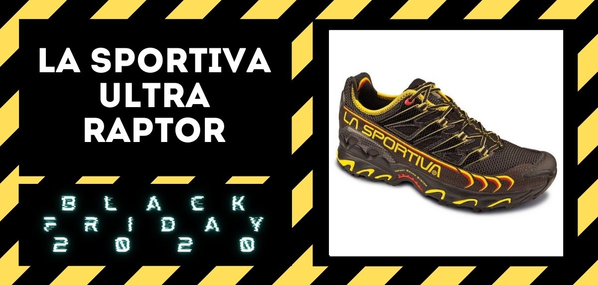 Los mejores descuentos del Black Friday en zapatillas trail 2020, La Sportiva Ultra Raptor
