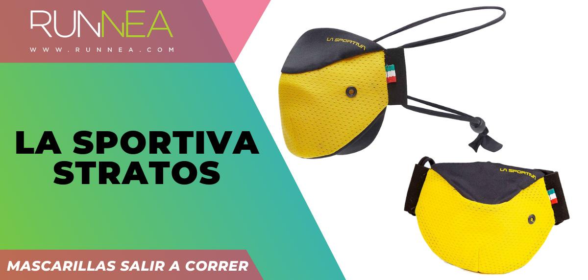 Las mejores mascarillas para salir a correr - La Sportiva Stratos Mask