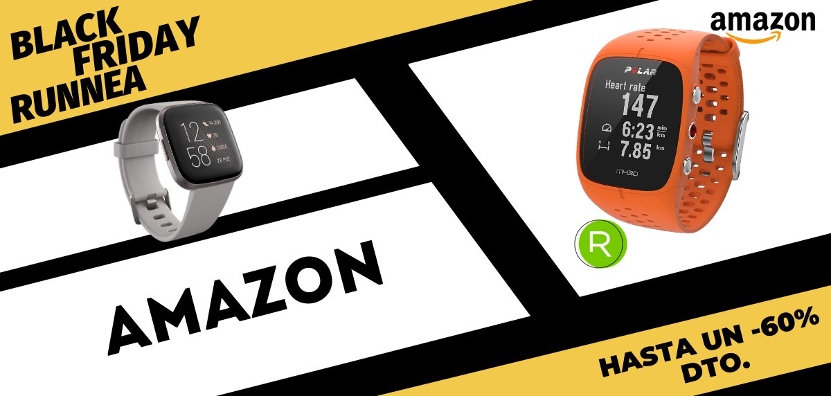 Selección de RUNNEA en las ofertas del Black Friday Running 2020 - Amazon