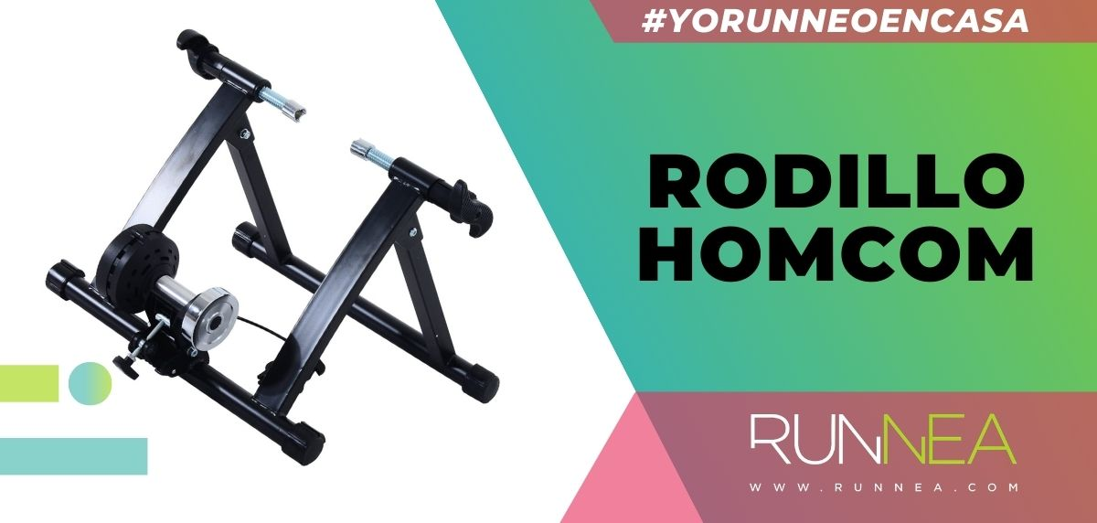 Los mejores rodillos para entrenar con tu bicicleta sin salir de casa, Rodillo HOMCOM