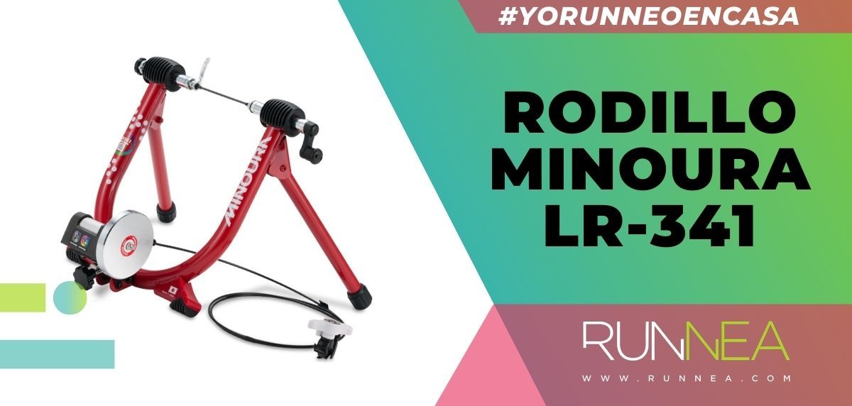 Los mejores rodillos para entrenar con tu bicicleta sin salir de casa, Rodillo Minoura LR-341