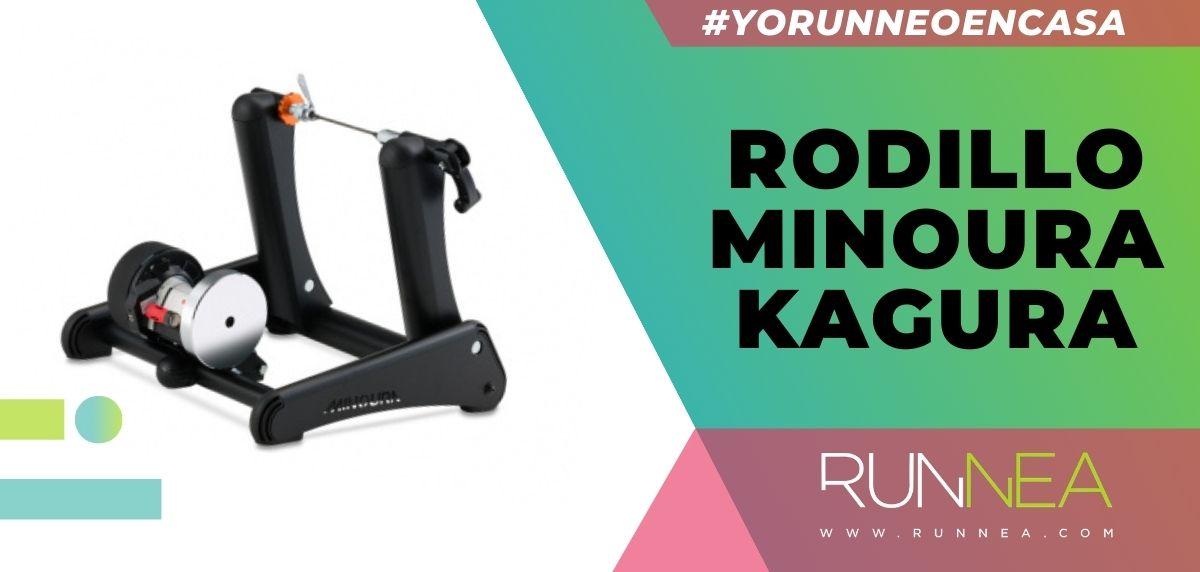 Los mejores rodillos para entrenar con tu bicicleta sin salir de casa, rodillo Minoura Kagura