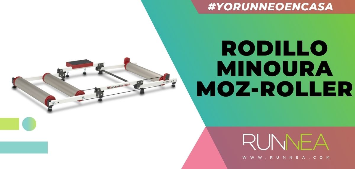 Los mejores rodillos para entrenar con tu bicicleta sin salir de casa, rodillo Minoura Moz-Roller