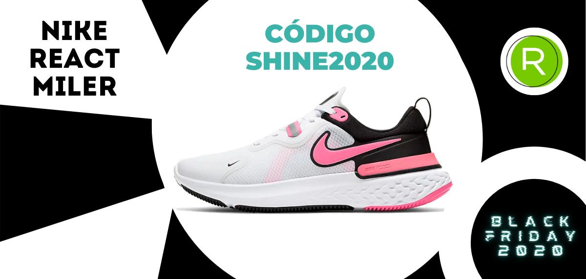 Nike Black Friday, promoción especial del -25% EXTRA en zapatillas running para mujer - Nike React Miler