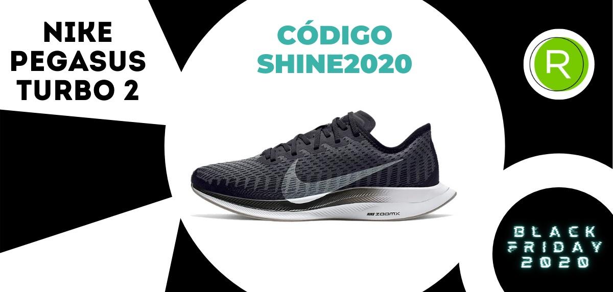 Nike Black Friday, promoción especial del -25% EXTRA en zapatillas running para mujer - Nike Pegasus Turbo 2