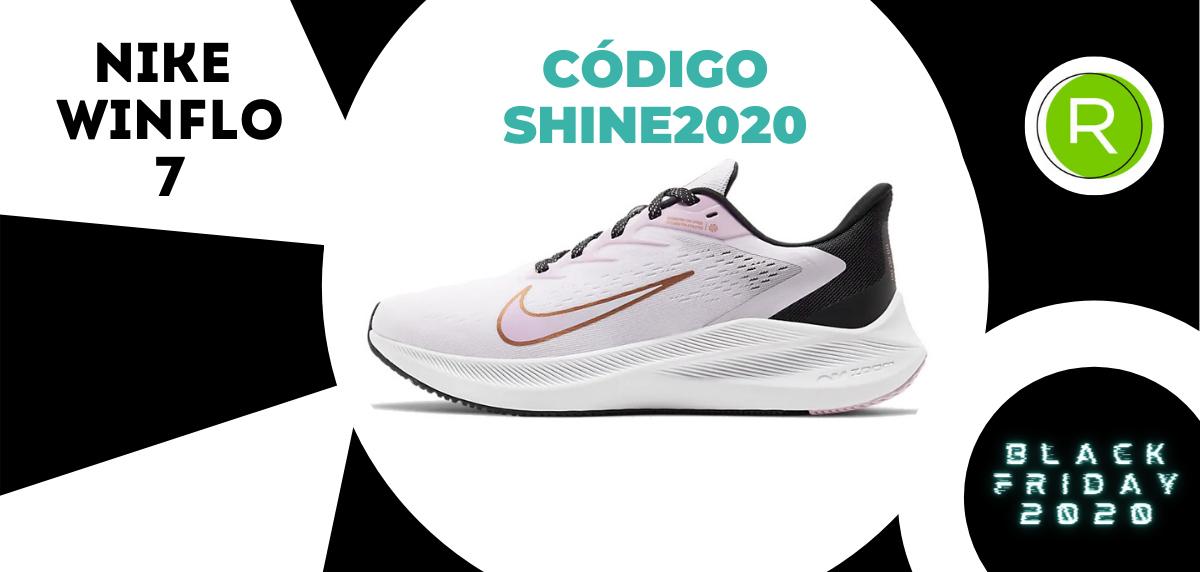 Nike Black Friday, promoción especial del -25% EXTRA en zapatillas running para mujer - Nike Air Zoom Winflo 7