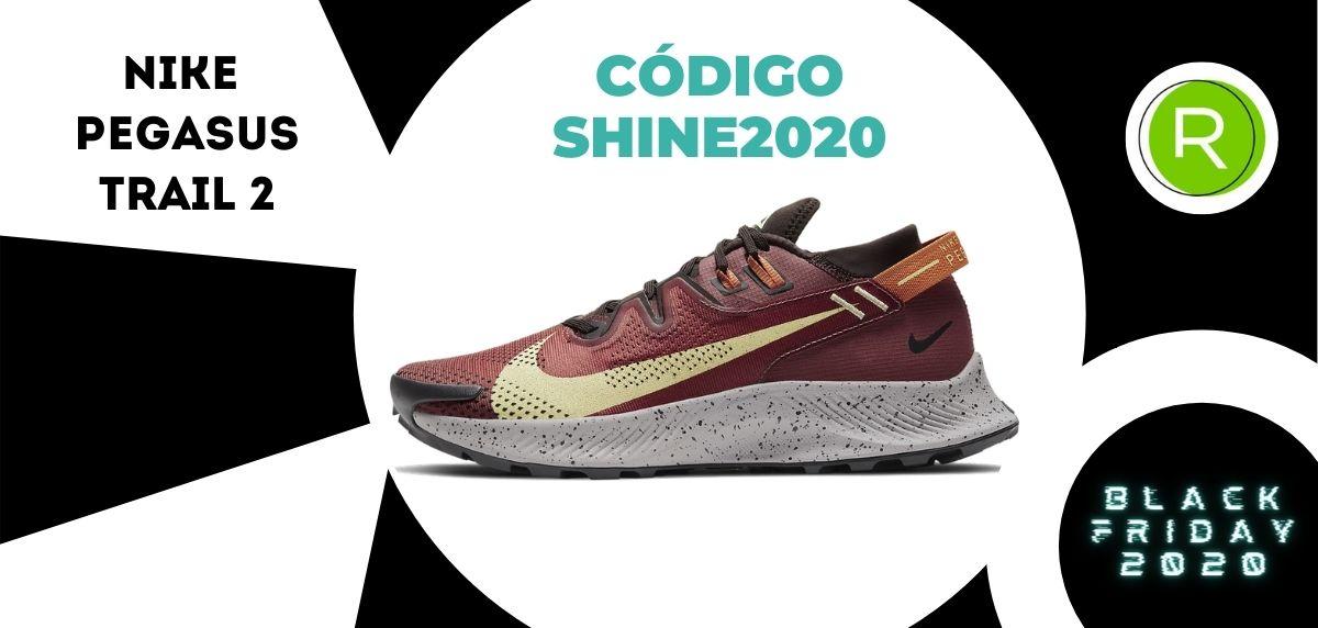 Nike Black Week: -25% EXTRA en TODAS las zapatillas running para, Nike Pegasus Trail 2