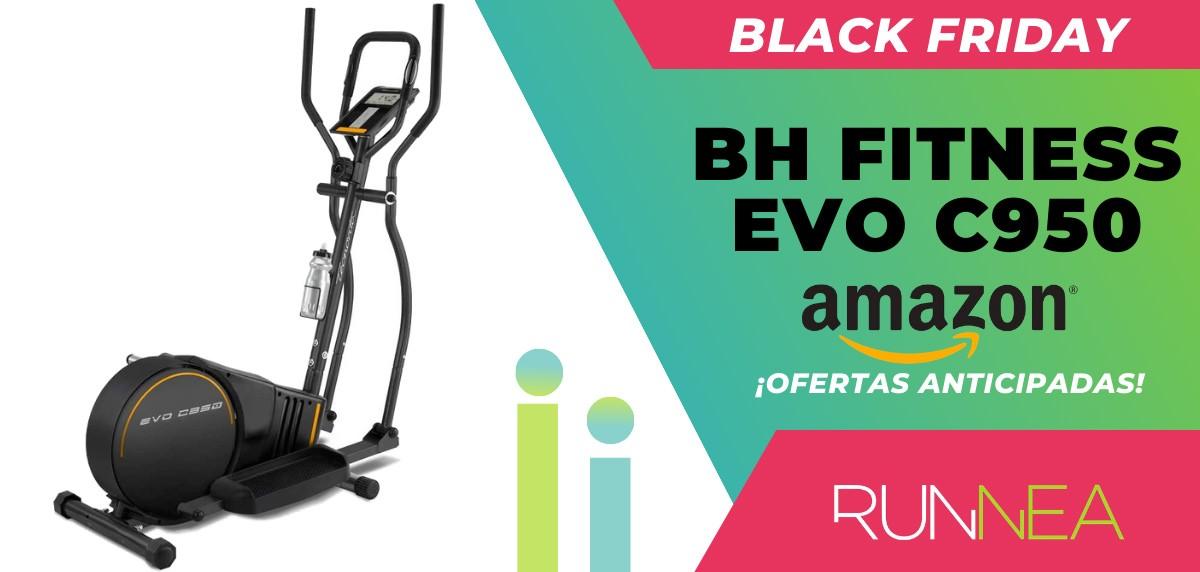 10 ofertas Black friday 2020 Amazon anticipadas para runners - bicicleta elíptica BH Fitness EVO C950