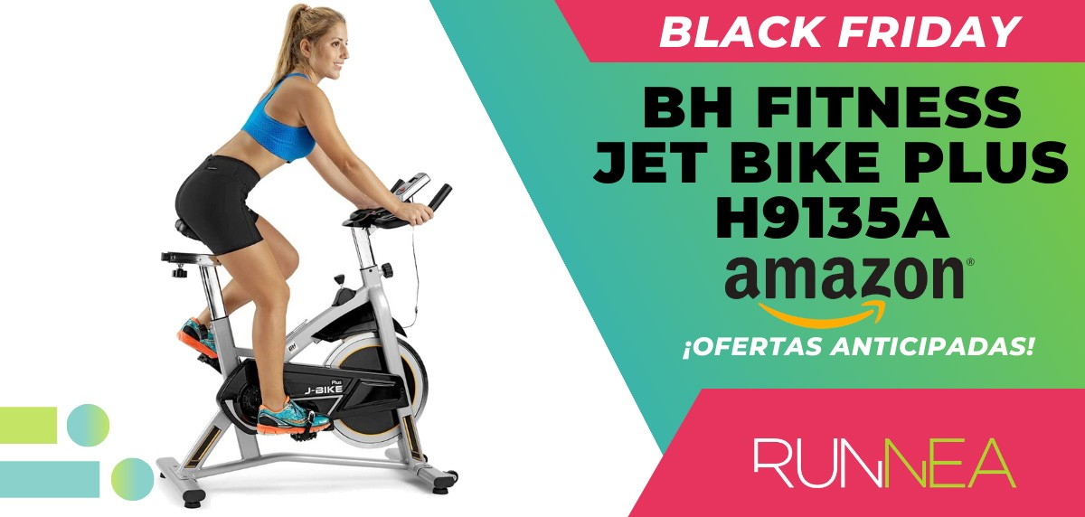 10 ofertas Black friday 2020 Amazon anticipadas para runners - bici spinning BH Fitness Jet Bike Plus H9135A