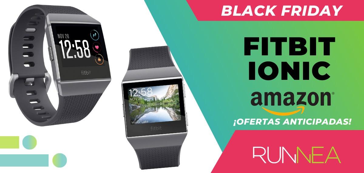 10 ofertas Black friday 2020 Amazon anticipadas para runners - Fitbit Ionic