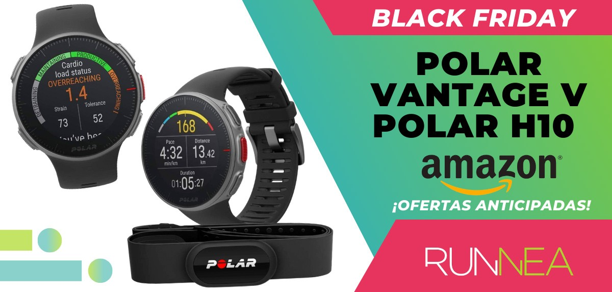 10 ofertas Black friday 2020 Amazon anticipadas para runners - Polar Vantage V HR