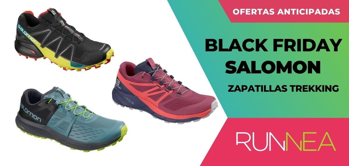 Ofertas anticipadas Black Friday 2020 Salomon: descuentos en zapatillas trail y trekking