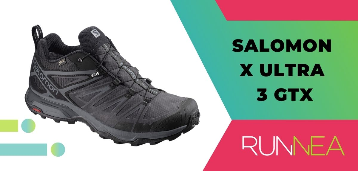 Ofertas anticipadas Black Friday 2020 Salomon: descuentos en zapatillas de trekking, Salomon X Ultra 3 GTX