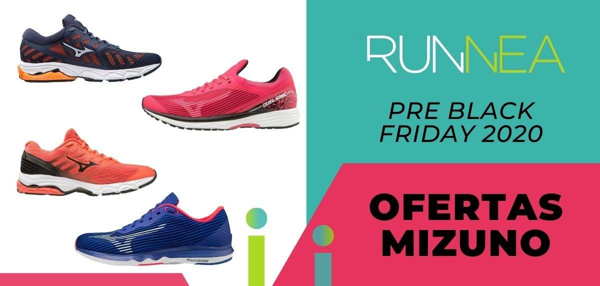 Pre Black Friday 2020: las mejores ofertas de Mizuno en zapatillas running