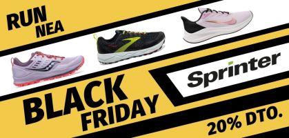 Sprinter Black Friday 2020: 20% de descuento en todo su catálogo de zapatillas