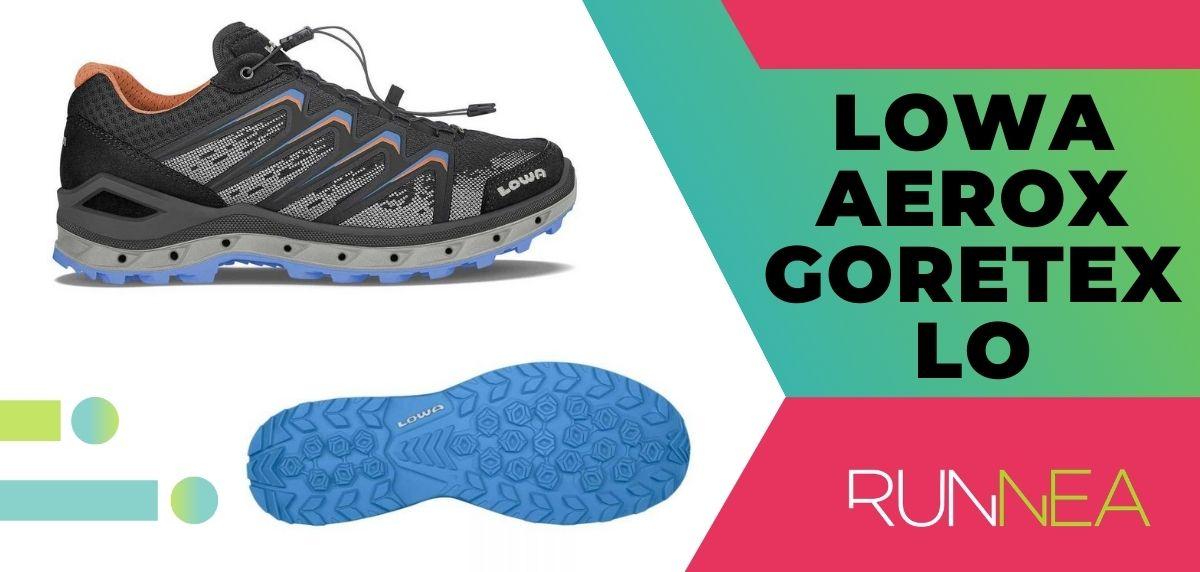 Las 15 mejores zapatillas de trekking 2020, Lowa Aerox Goretex Lo