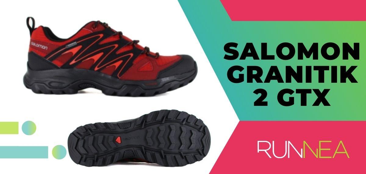 Las 15 mejores zapatillas de trekking 2020, Salomon Granitik 2 GTX