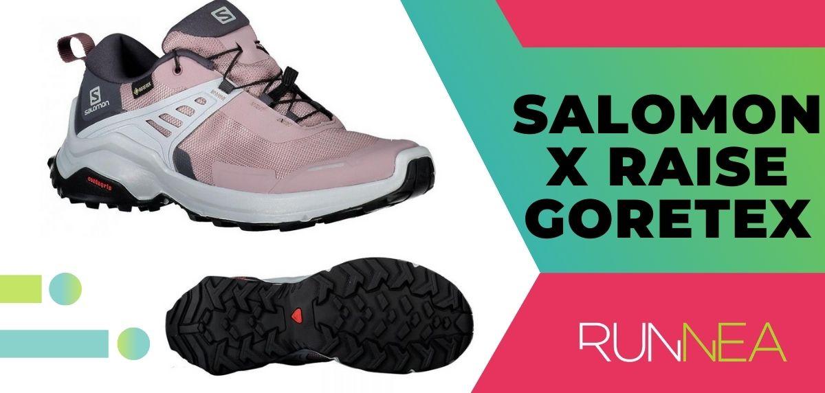 Las 15 mejores zapatillas de trekking 2020, Salomon X Raise Goretex