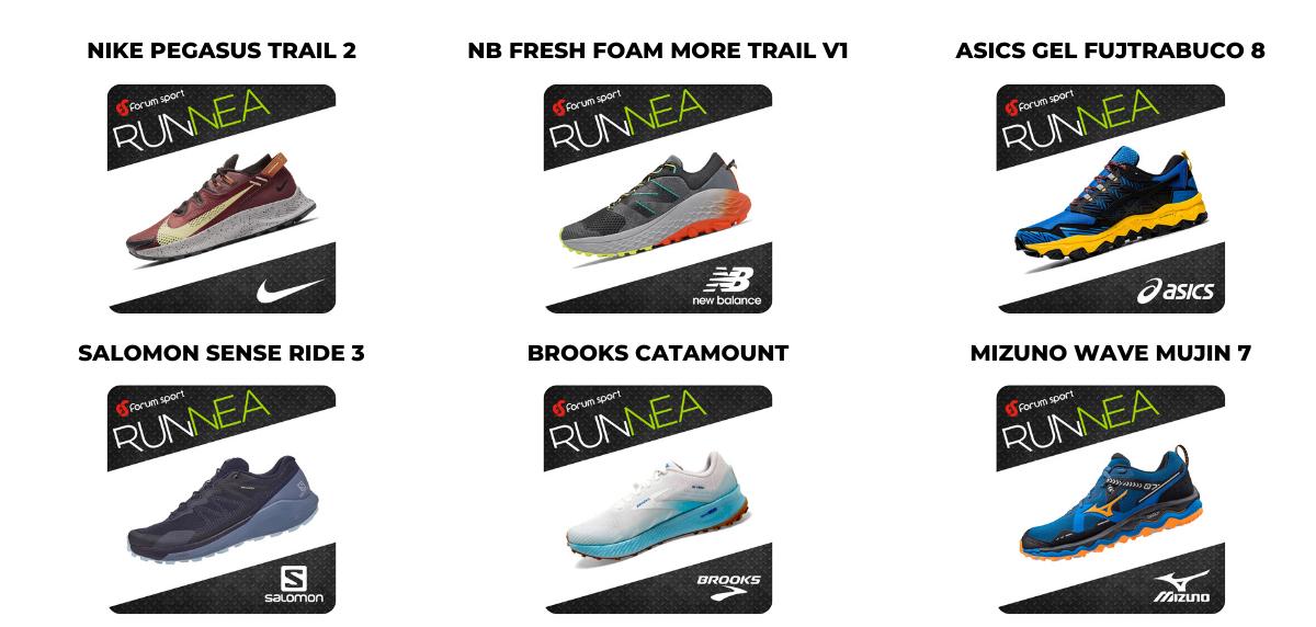 Candidatas a mejor zapatilla de trail running 2020