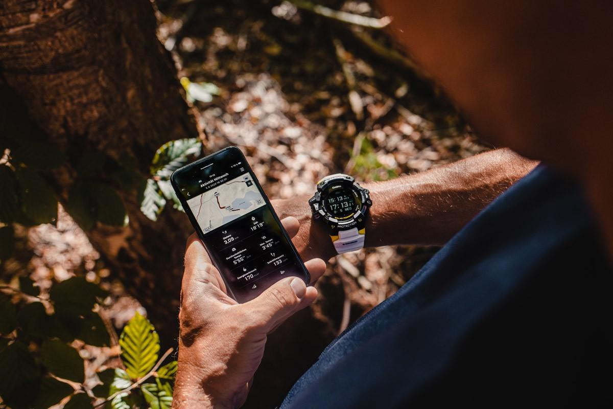 Casio GBD-H1000 1A7ER reloj deportivo GPS para actividades outdoor - foto 1
