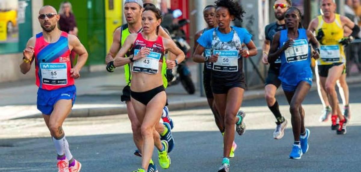 Maratón Madrid 2021, carrera