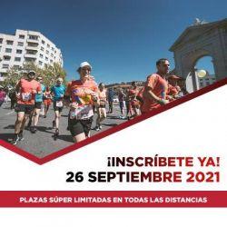 Cartel - Maratón Madrid 2021