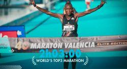 Cartel - Maratón Valencia 2021