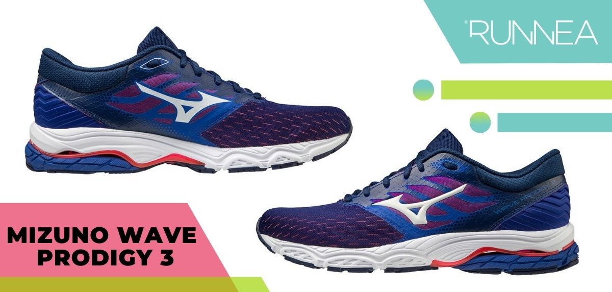 Las mejores zapatillas running 2020, Mizuno Wave Prodigy 3