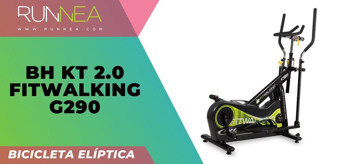 ¿Qué saber antes de comprar una bicicleta elíptica? BH KT 2.0 FitWalking G290