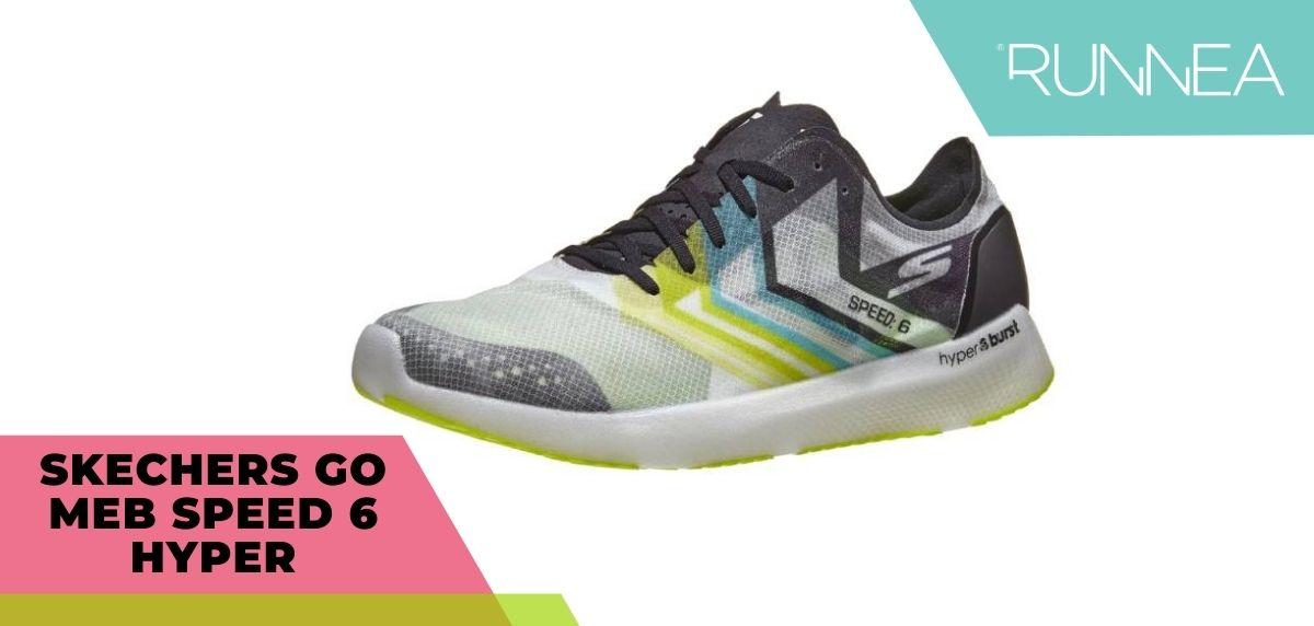 Skechers Gomeb Speed 6 Hyper, tecnología GoodYear