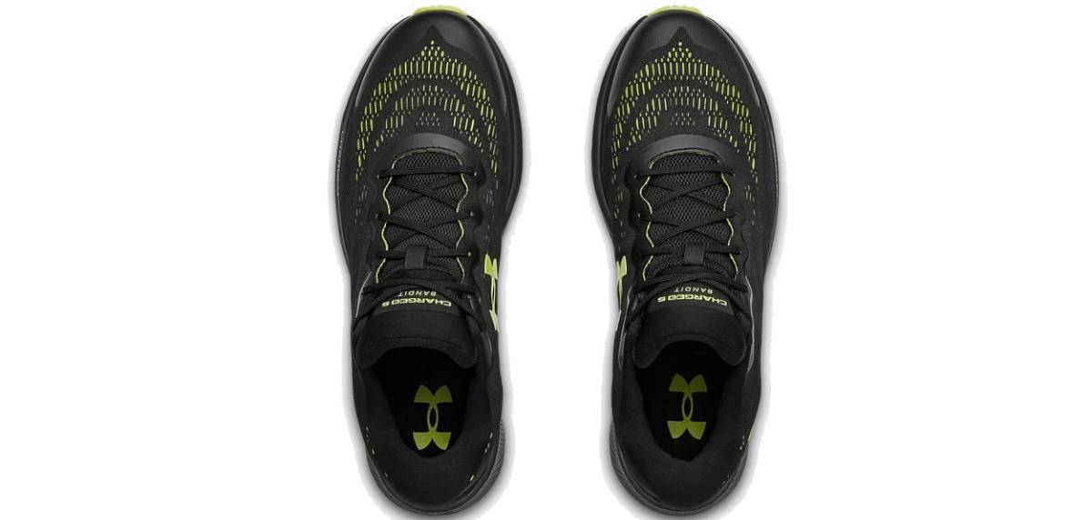 Under Armour Charged Bandit 6, upper