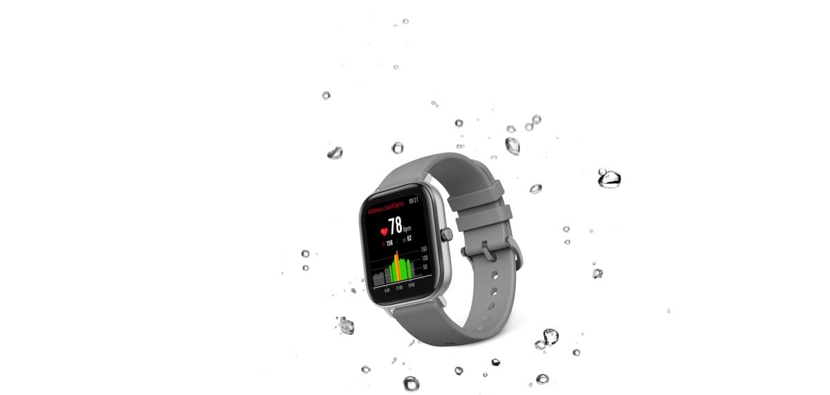Xiaomi Amazfit GTS, resistencia agua