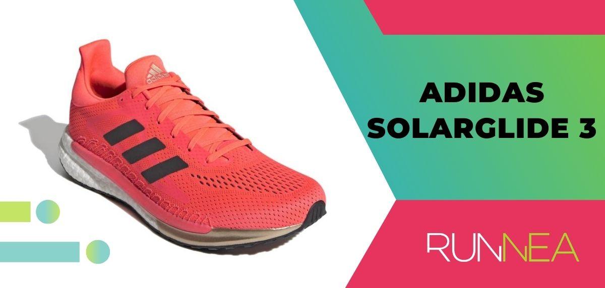 adidas SolarGlide 3, pisada neutra
