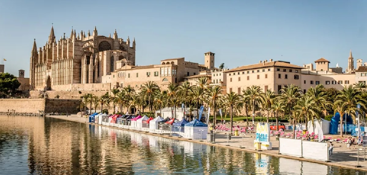 Marathon Palma 2021 residentes, stands