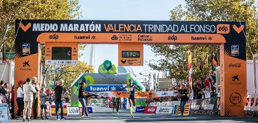 Medio Maratón Valencia Trinidad Alfonso EDP 2021