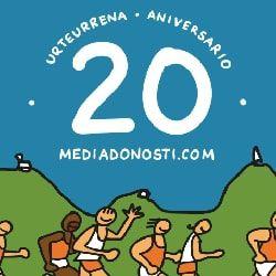 Cartel - Media Maratón Donosti 2021