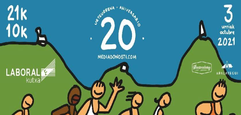 Media Maratón Donosti 2021