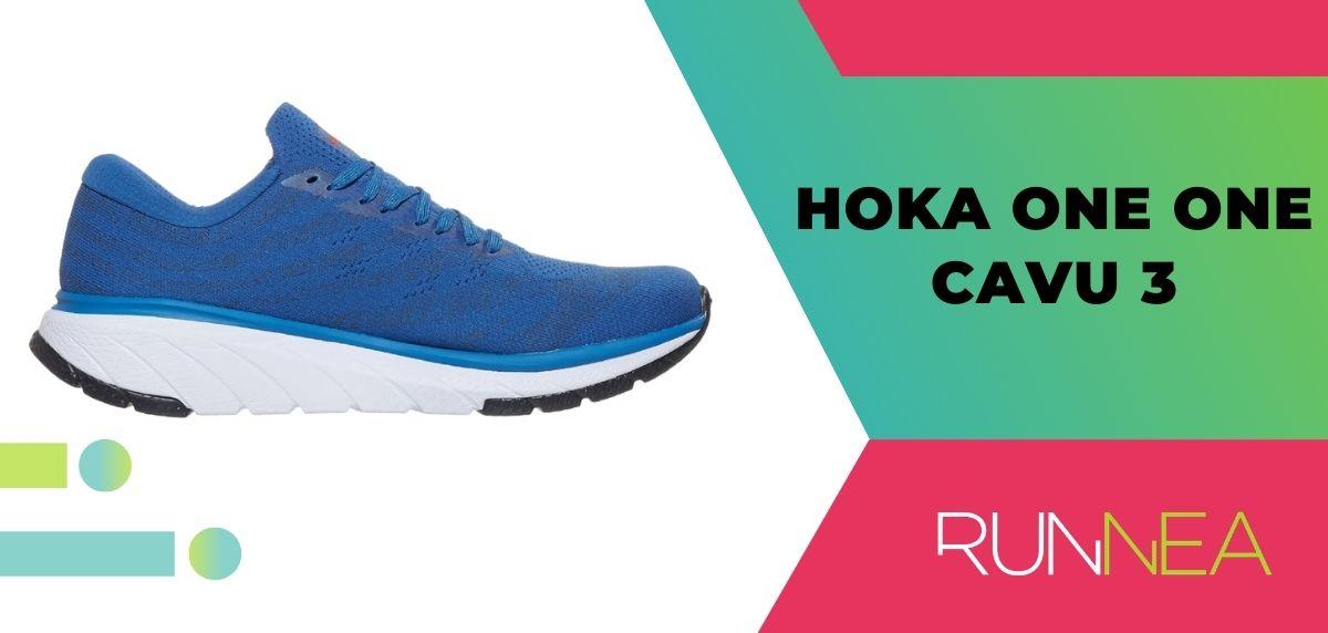 Mejores zapatillas de running relación calidad-precio, HOKA ONE ONE Cavu 3