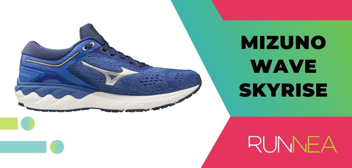 Mejores zapatillas de running relación calidad-precio, Mizuno Wave Skyrise