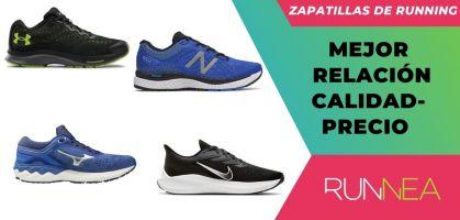 Mejores zapatillas running relación calidad-precio ¡Esta es la selección de RUNNEA!