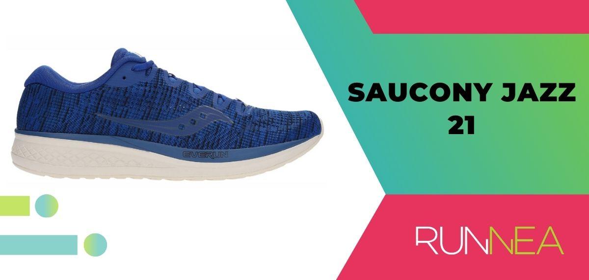 Mejores zapatillas de running relación calidad-precio, Saucony Jazz 21